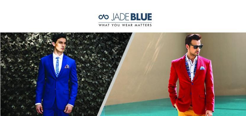 JadeBlue is one of India's largest exclusive menswear stores.