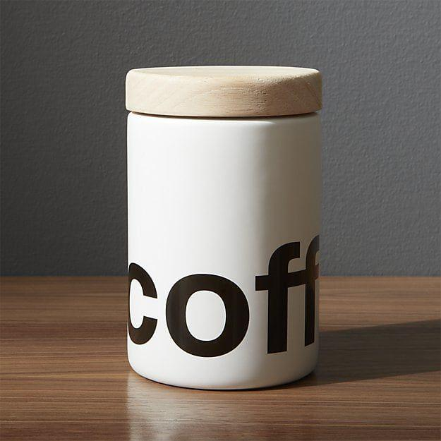 Loft Coffee Canister