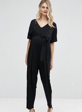 slimming black jumpsuit