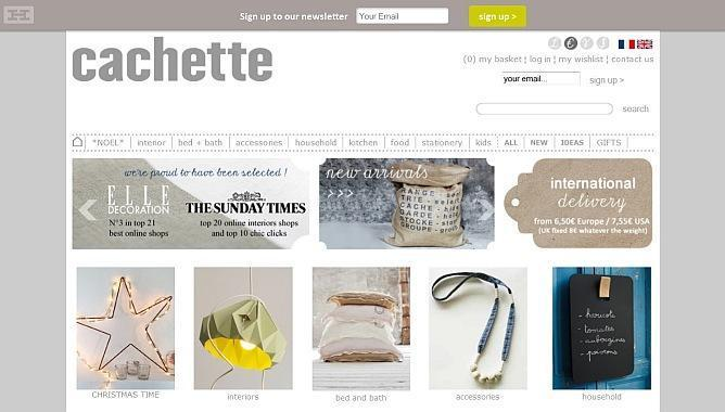 Shop at Cachette and browse for unique gift ideas, shop for yourself, wish, bookmark, share, feel at home!